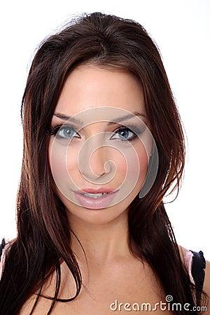 Женщина брюнет