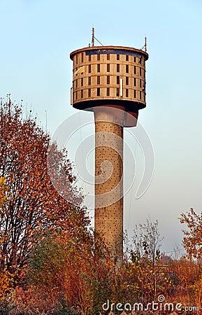 Παλαιός πύργος νερού