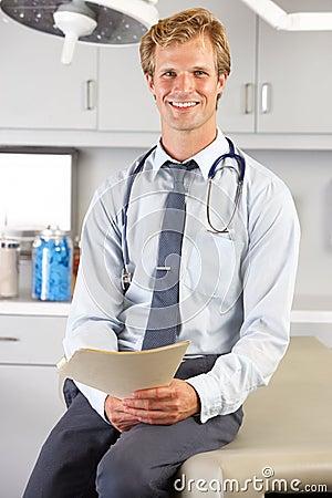 Портрет Офиса доктора В доктора