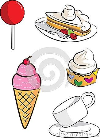 Комплект десерта