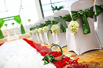 Стулы венчания