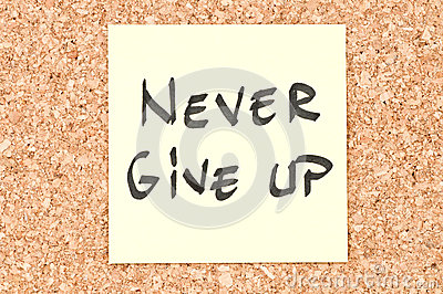 Никогда не дайте вверх