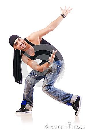 舞蹈演员跳舞