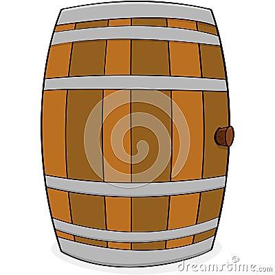 Ξύλινο βαρέλι