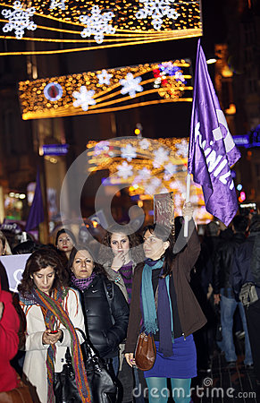 Международный женский день Редакционное Фотография