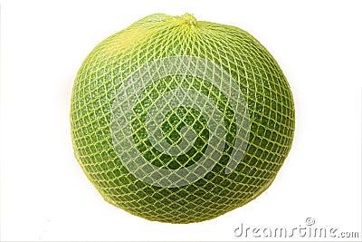 在黄色网的柚