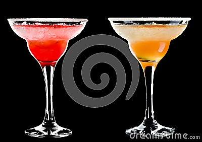 Холодный спиртной коктеил