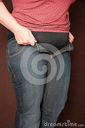 Тучная женщина