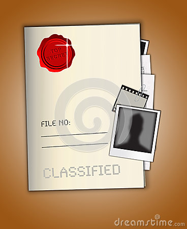 最高机密的文件