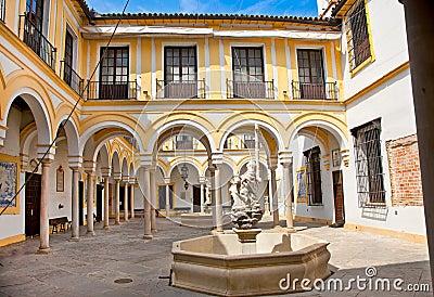 慈善医院在塞维利亚,西班牙。