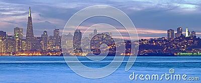 黄昏的旧金山