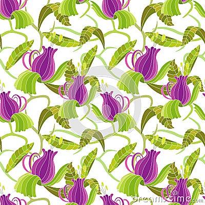 Ιώδες λουλούδι