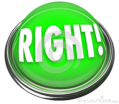 正确的绿色按钮轻的闪动的正确应答