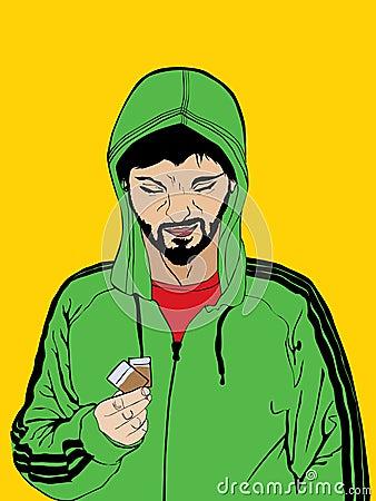Торговец наркотикам