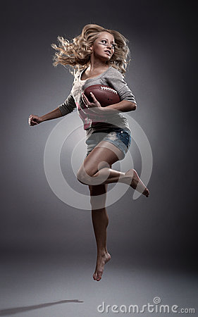 橄榄球妇女