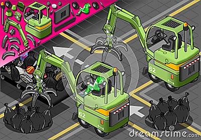 在背面图的等量微型机械臂机器