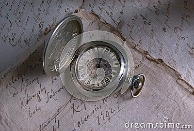 παλαιό χρονικό ρολόι