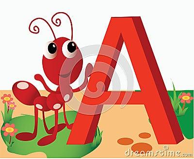 ����z-a:+�_动物字母表a