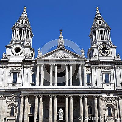 圣保罗大教堂在伦敦
