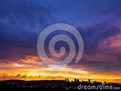 Θερινό ηλιοβασίλεμα