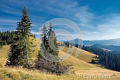 Взгляд гор словака