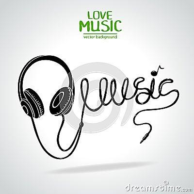 Силуэт музыки