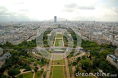 巴黎天线全景