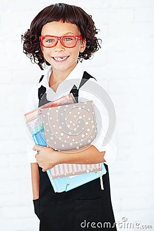 Девушка школы
