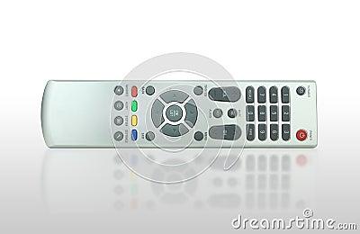遥控的电视