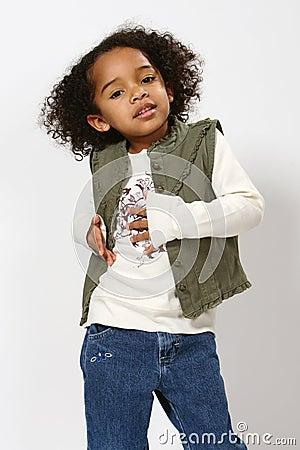 ребенок афроамериканца