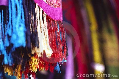 шарф цвета