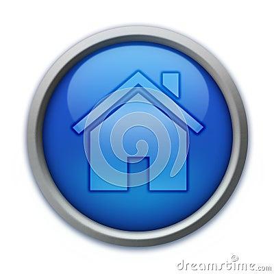 蓝色按钮家