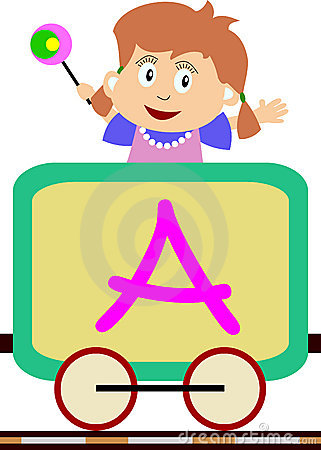 поезд серии малышей