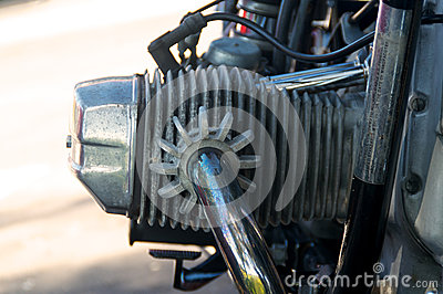 葡萄酒摩托车气缸盖
