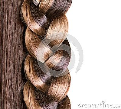 辫子发型图片