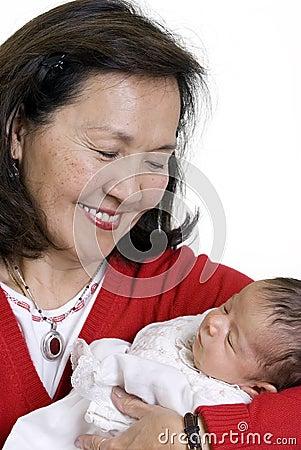 γιαγιά μωρών