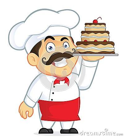 Картинки по запросу повар торт