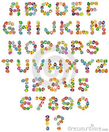 愉快复活节的字体
