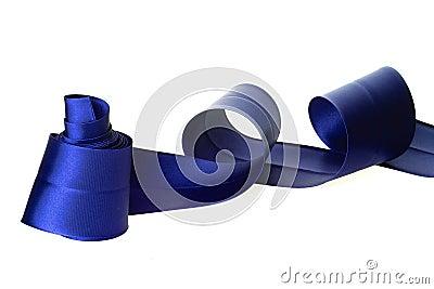 голубая тесемка