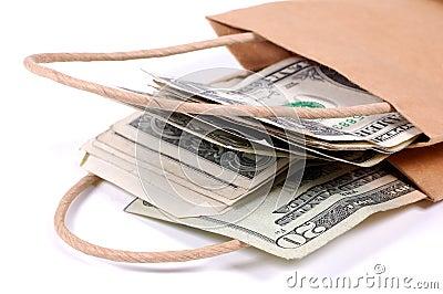 деньги мешка
