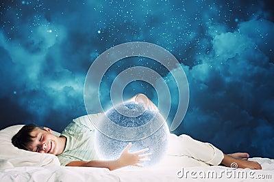 梦见自己睡觉