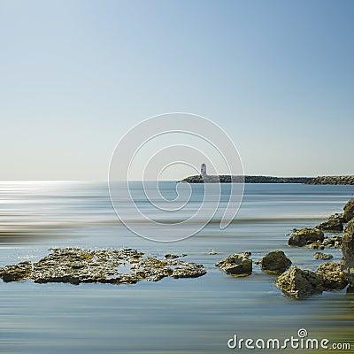 在地中海的灯塔