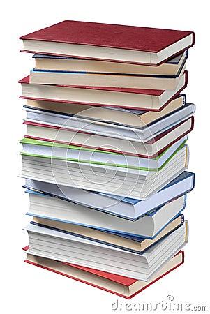 стог книг