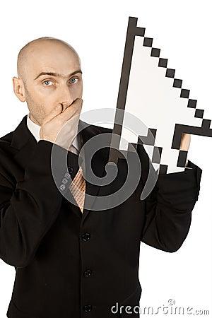 生意人鼠标指针
