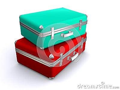 βαλίτσες δύο