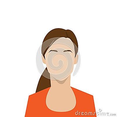 外形象女性具体化妇女画象图片