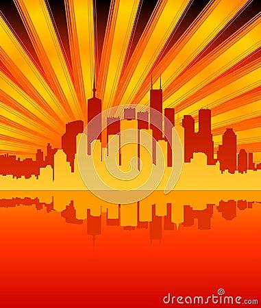 ηλιοφάνεια πόλεων