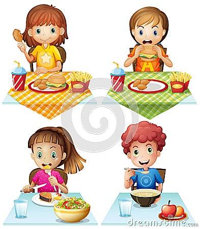 吃食物图片