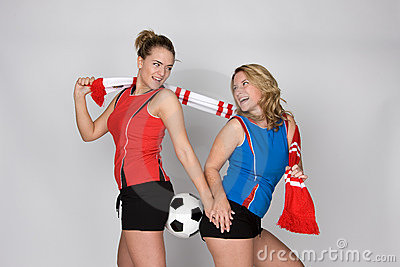 женщина футбола