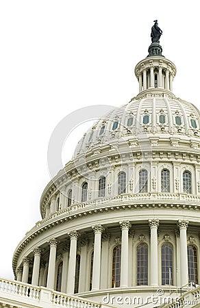 国会大厦覆以圆顶我们